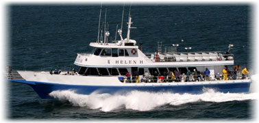 Cape Cod Party Boat Fishing - The Helen-H - Hyannis MA